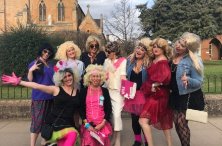 Mudgee 80's themed hens party